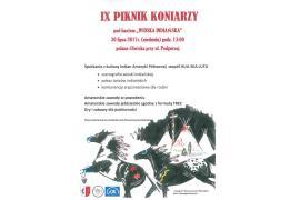 <b>IX PIKNIK KONIARZY (PROGRAM)</b>